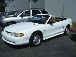1994 Ford Mustang Convertible Car For Sale: Winnipeg